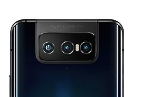 Zenfone 7シリーズではメイン/超広角/望遠の3カメラ構成