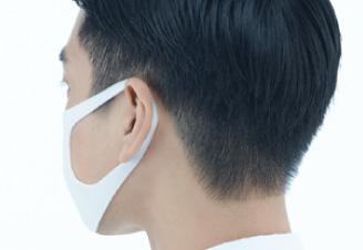 PITTA MASKの装着状態(耳の部分)